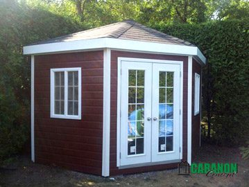 Cabanon Concept Québec | Fabricant cabanons, garage, remise de jardin